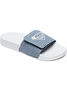 a3f4df06b086 Roxy Women s Slippy Textile Slide Sandal Sport