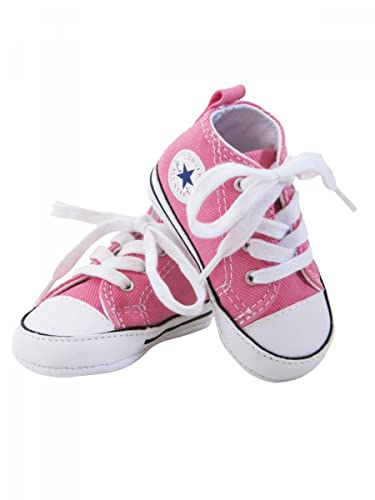 9bae4852808d1 CONVERSE - Baskets All star toile rose bébé fille Converse  Amazon ...