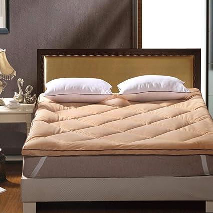 LJ Dormitorio del Estudiante Colchón más Grueso Tatami Hogar Estera del Piso Plegable (Color :