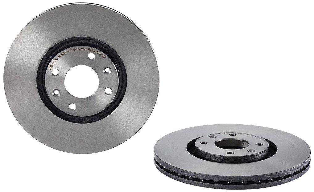 Brembo 09993511 Discos de Freno con Recubrimiento UV Set de 2