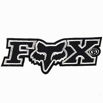 amazon com fox racing black iron on patches with free gift rh amazon com