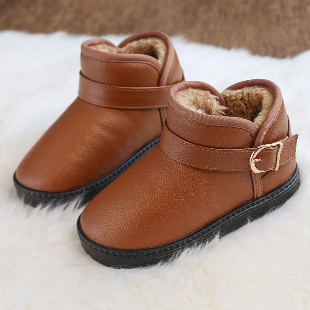 ... Martin Chicas Niños Estudiantes Botas de Nieve Botas para niños y Botas de Terciopelo Antideslizantes calientan Zapatos: Amazon.es: Ropa y accesorios