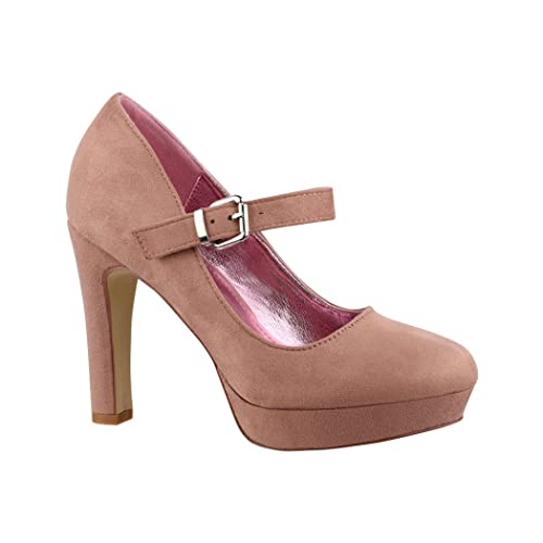 Elara - Tira de tobillo Mujer , color rosa, talla 41