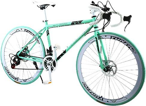 Lomsarsh - Bicicleta de montaña de 26 pulgadas, bicicleta de carretera para estudiantes adultos, bicicleta de exterior, hombre y mujer, deporte de montaña, varios colores, color c, tamaño 26inches: Amazon.es: Deportes y