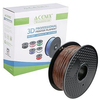 Filamento de la impresora 3D de café PLA ACENIX®, 1 kg Carrete ...