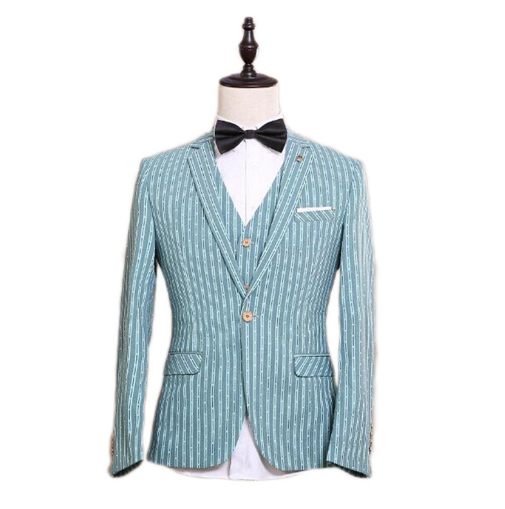 Love Dress Men's Suit 3-Piece Groom Dress Men Blazer Lapel Neck 5XL