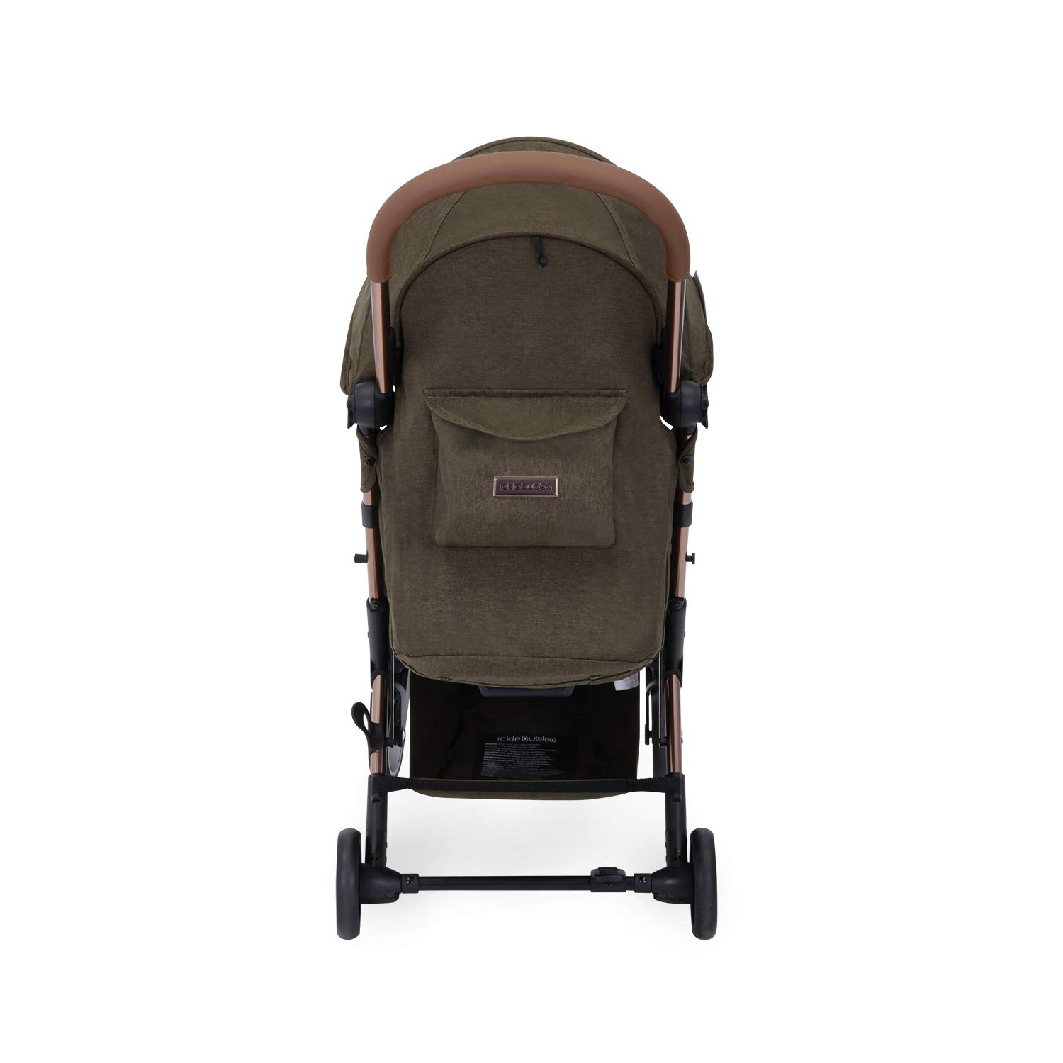 Lightweight and Portable Stroller Pushchair UPF 50+ Extendable Hood and Baby Carriage Accessories Globe Prime Folds Slim for Ultra Compact Storage Ickle Bubba Baby Strollers Black//Rose Gold