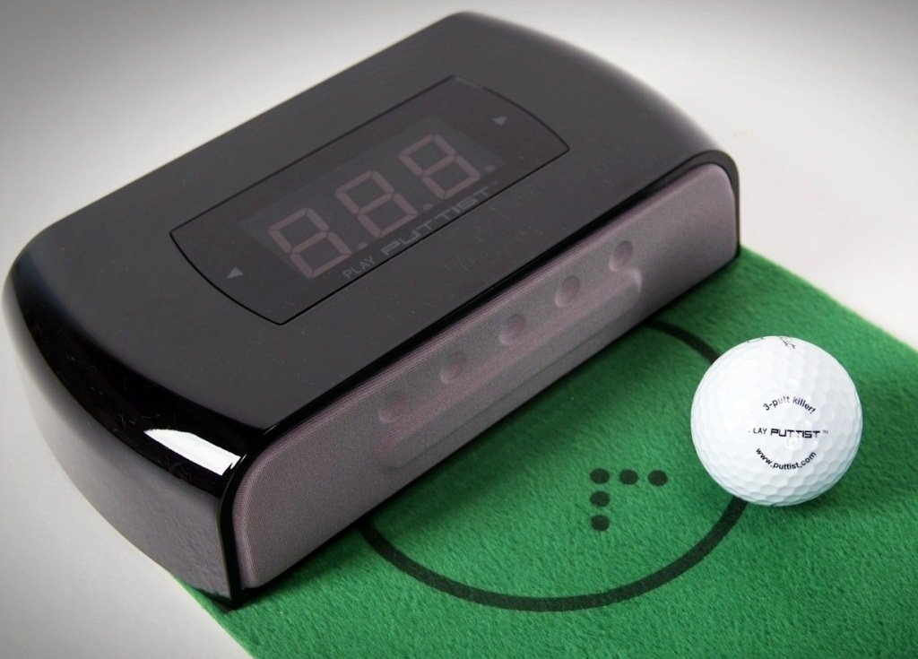 Puttist Plus-Digital Putting Trainer (Black) by Puttist