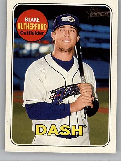 2017 Bowman/'s Best Blake Rutherford Prospect Refractor White Sox