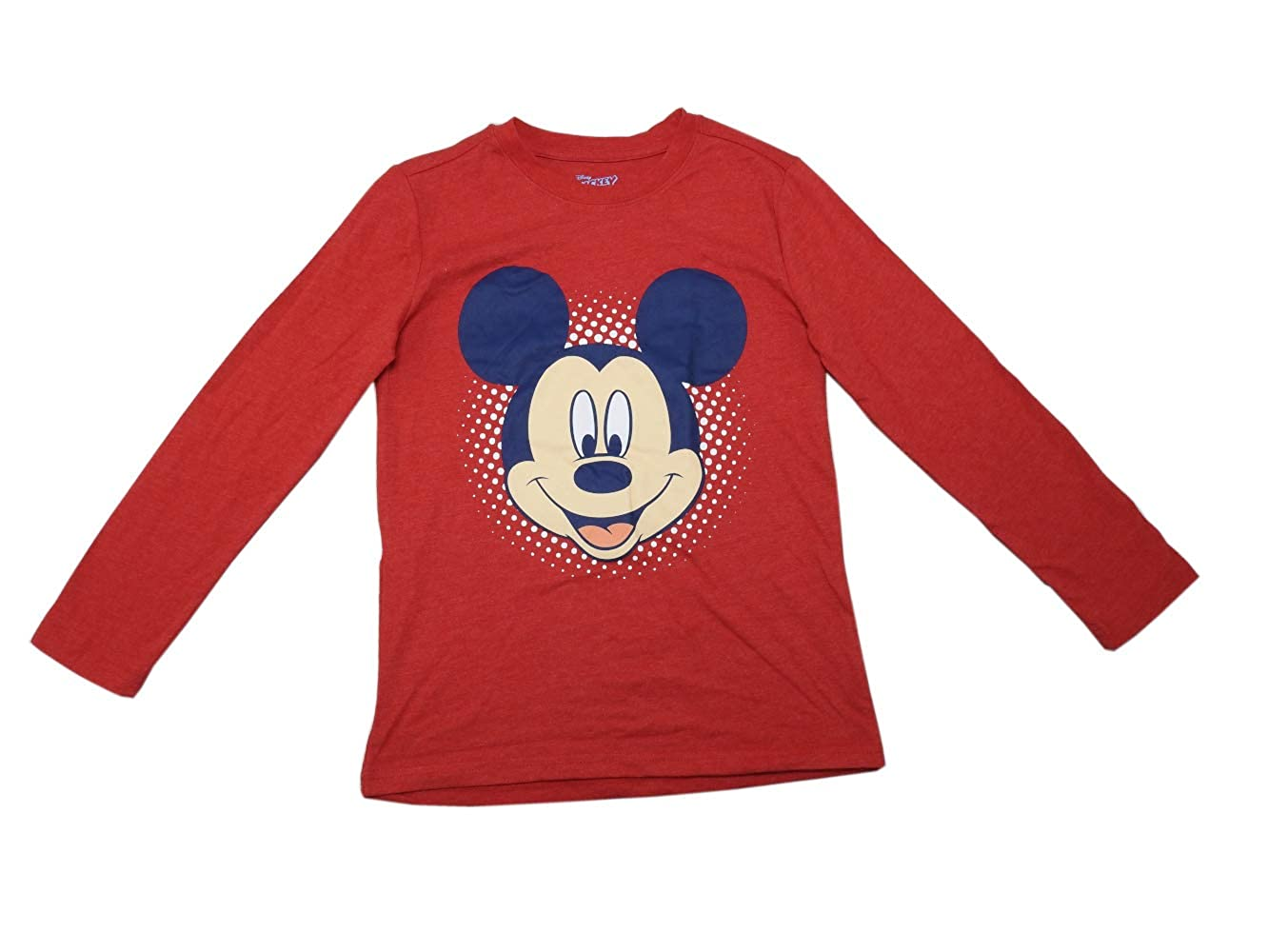 5fe3297e Ltd Childrens Apparel Network Boys Size 7/8 Mickey Mouse 2-Pc Hooded Denim  Jacket & Shirt ...