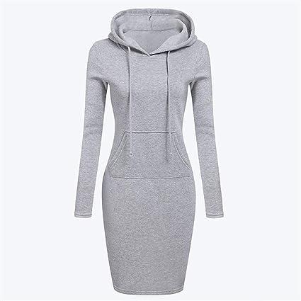 Long Sleeve Hoody Dress