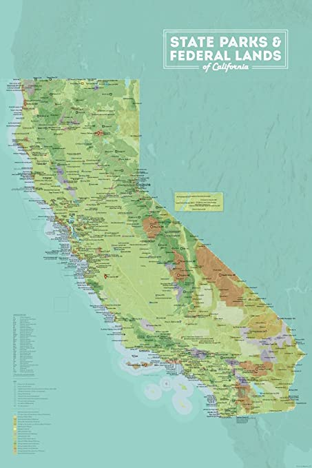 Maps Of California on