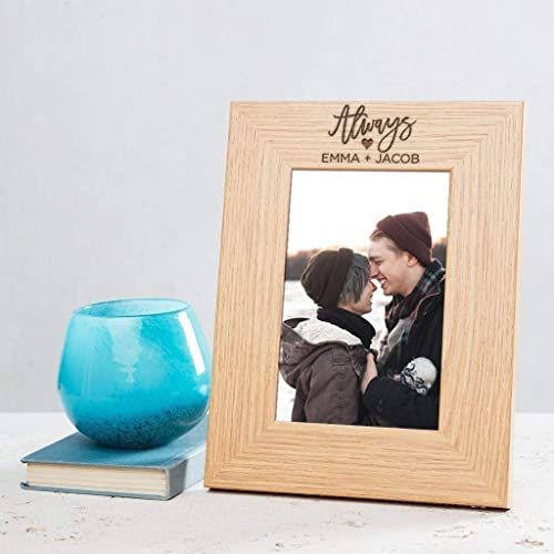 Amazoncom Personalized Photo Frames Engravedpersonalized Wedding