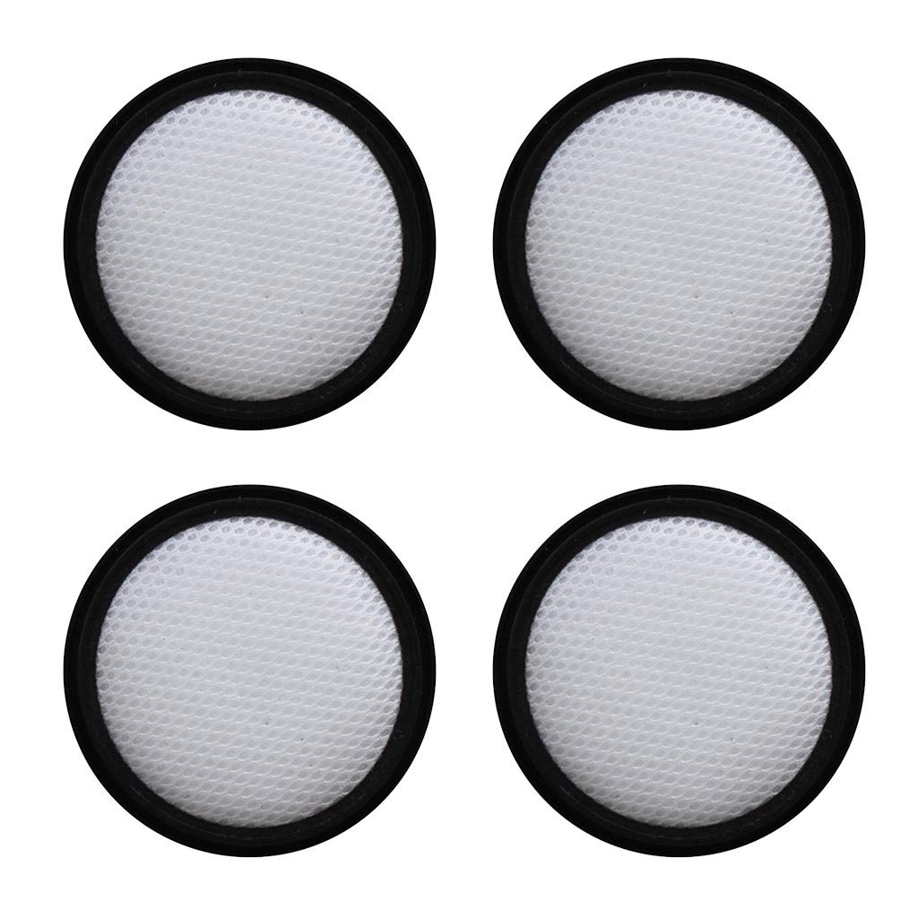 FiedFikt Lot de 4 filtres HEPA de Rechange pour aspirateur Proscenic P9 Filtration du Moteur Micro-poussi/ère de laspirateur