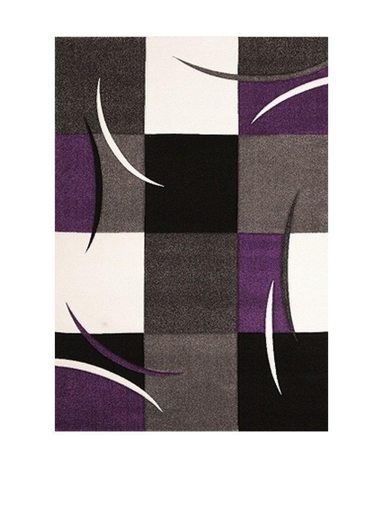 Nazar DIA665 V Daemon 665 Teppich aus PU, Violett, violett, 170x120x1.3 cm
