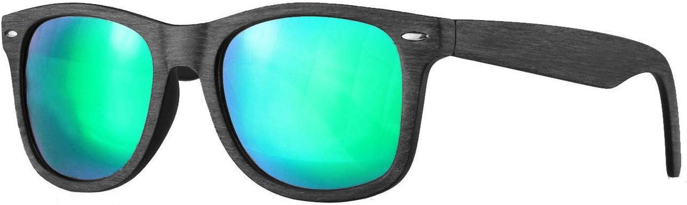 SP Caripe Retro Nerd Vintage Sonnenbrille verspiegelt Damen Herren 80er