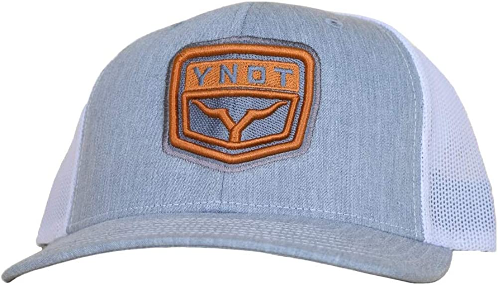 YNOT Lifestyle Brand Double-Stitched Logo Trucker Hat