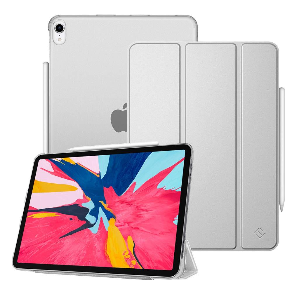 正規品販売! Fintie Apple iPad Pro 11インチ 2018用ケース Apple 11インチ Pencil Pencil 第2世代充電モード対応 EPAH101US シルバー B07KG4HDP1, ナギチョウ:b0baf01d --- a0267596.xsph.ru