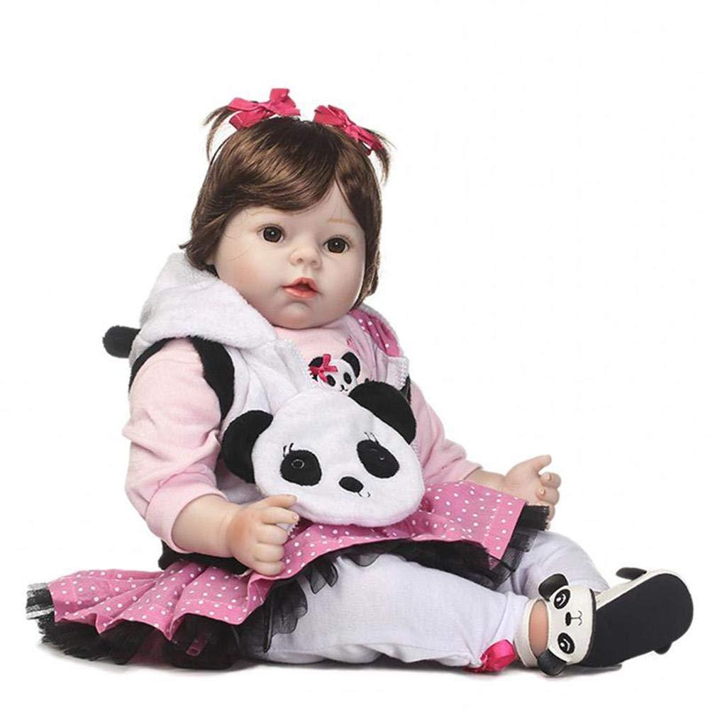 HEIRAO, Bambola di Simulazione di Neonato, 50 cm, Giocattolo educativo per Bambini, Regalo di Compleanno