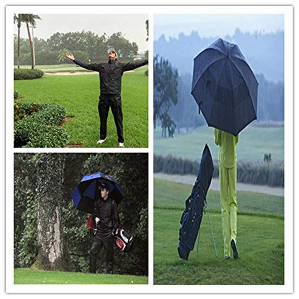 Amazon.com: Traje de lluvia para hombres y mujeres, chaqueta ...