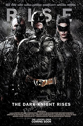 Posters USA - DC The Dark Knight Rises Batman Movie Poster GLOSSY FINISH - FIL212 (24