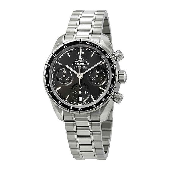 Omega Speedmaster 324.30.38.50.01.001 - Reloj cronógrafo automático para hombre, esfera negra: Amazon.es: Relojes