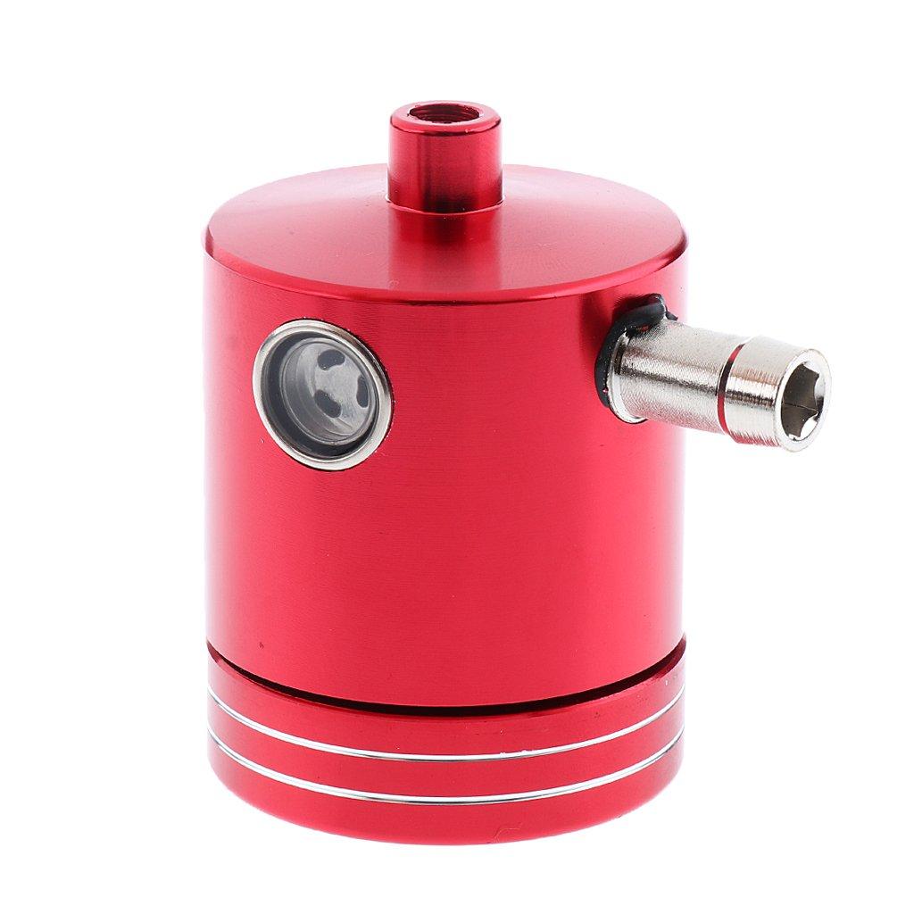 Non-brand Red-Front Freno Embrague Cilindro Fluido Depó sito De Aceite Tanque Taza Piezas De La Motocicleta Aluminio CNC Mecanizado Fá cil De Instalar