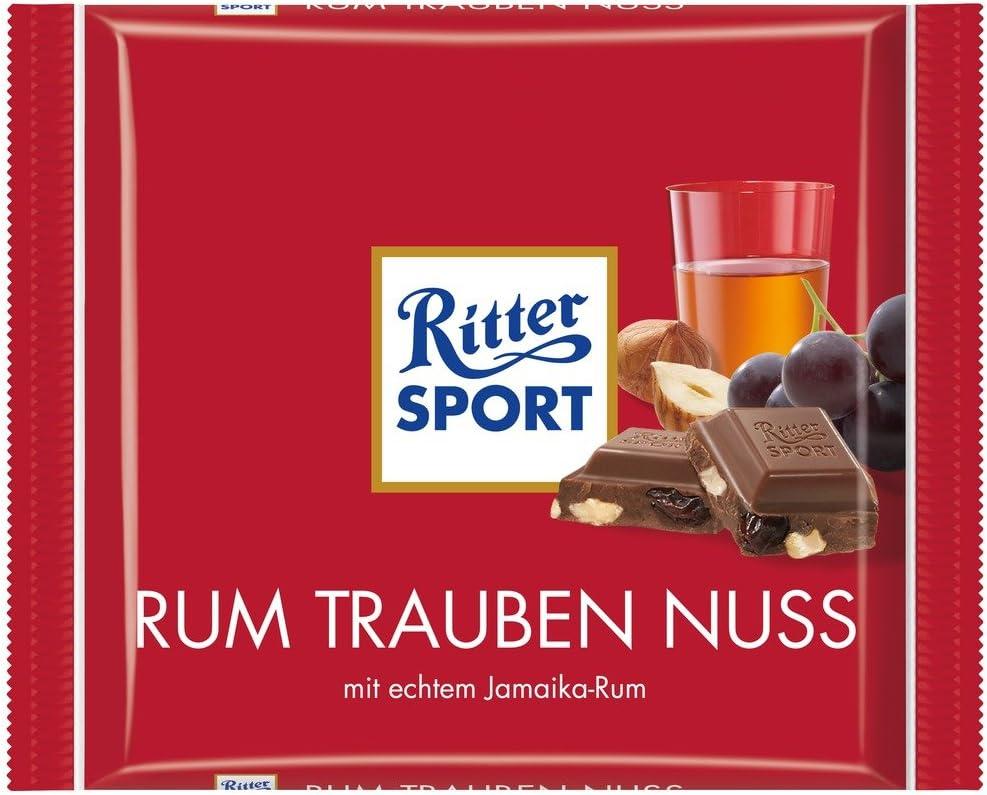 My german store - Ritter sport ron pasas de avellanas 100 g de chocolate