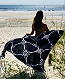 """CostaBella Brazilian Sarong Canga Cover Up, 100% Rayon, 44"""" x 66"""" – Perfect for Beach and Travel"""