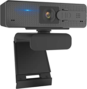 Auto Focus Webcam 1080P with Privacy Shutter, Trobing N960 Super High Definition Webcam with Microphone for Zoom, Skype, Conference, Live Streaming Web Camera for Desktop, Computer, PC (Mac/Windows)