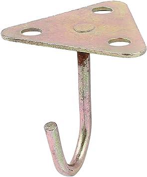 Aexit 8cmx8cm Triángulo Base metálica en forma de ventilador de ...