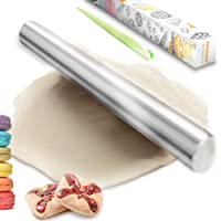 Kitchwise Stainless Steel Rolling Pin