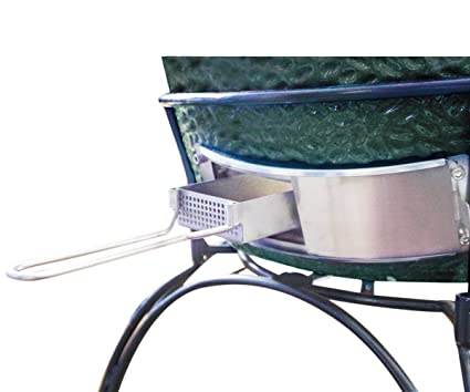 BBQ Slid Out Ash Drawer,Dracarys Stainless Steel Ash Tool Large Big Green  Egg Accessories