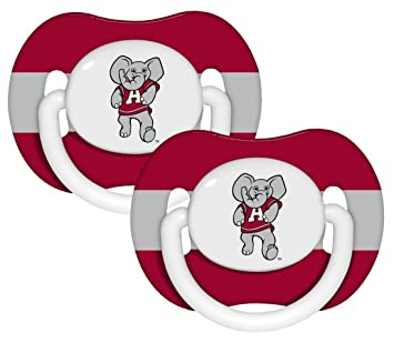 Amazon.com: Alabama Crimson Tide Chupete – 2 Pack, catálogo ...