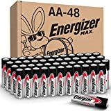 Energizer AA Batteries (48 Count), Double A Max