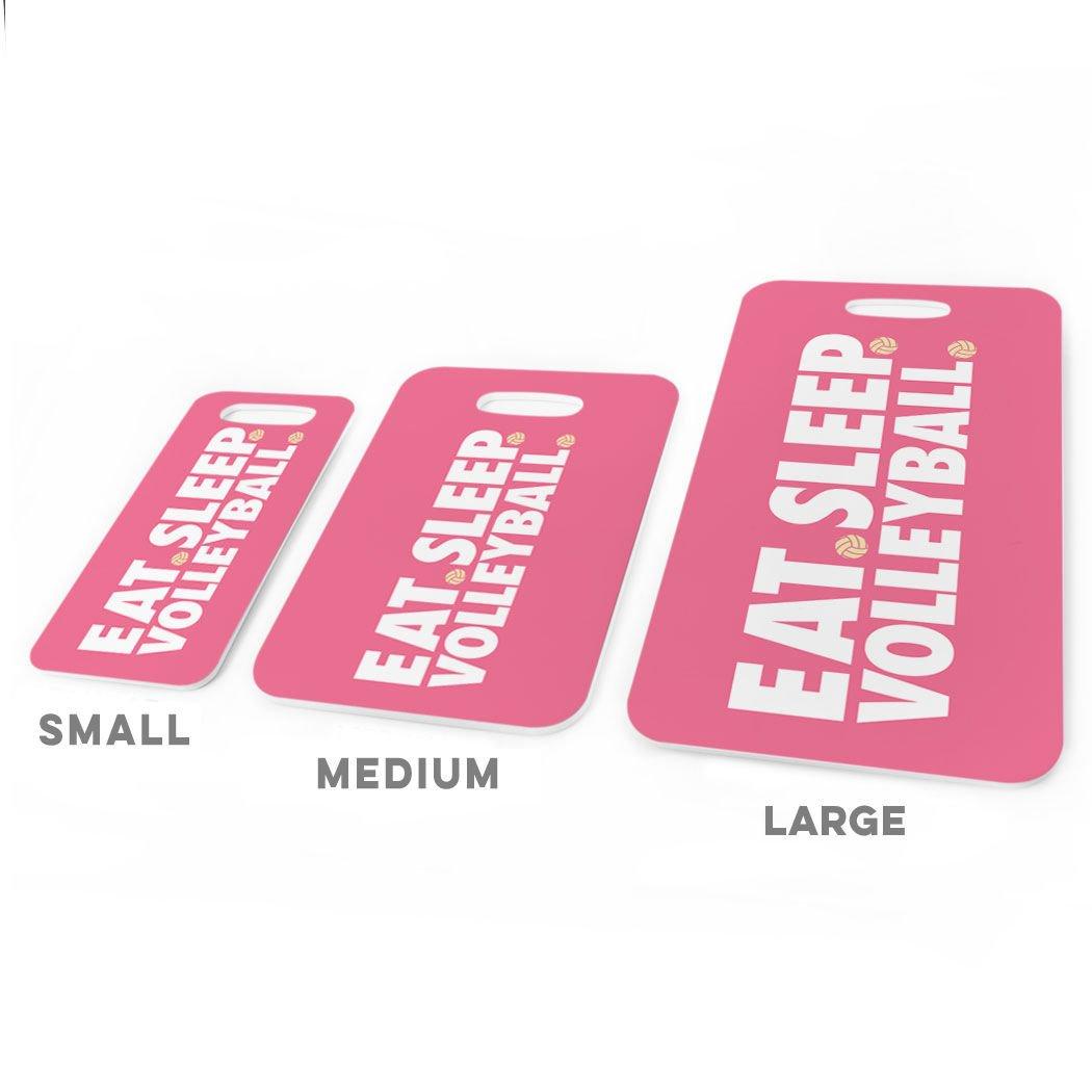CAROLINA Volleyball Luggage /& Bag Tag Eat Sleep Volleyball Custom Info on Back LARGE