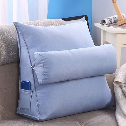 Cojin lectura Cojines sofas Cojines cama Almohada de cuña ...