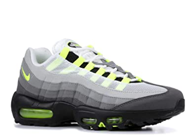 online retailer 6080b d7068 Nike Men s 554970 071 Trainers Black Black Volt-Medium Ash-Dark Pewter 9.5