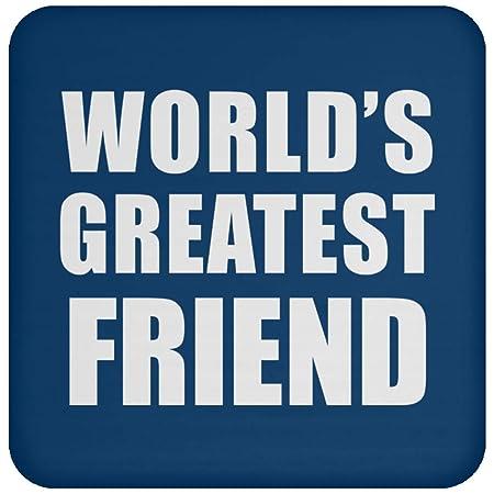 Worlds Greatest Friend - Drink Coaster Royal Posavasos para ...