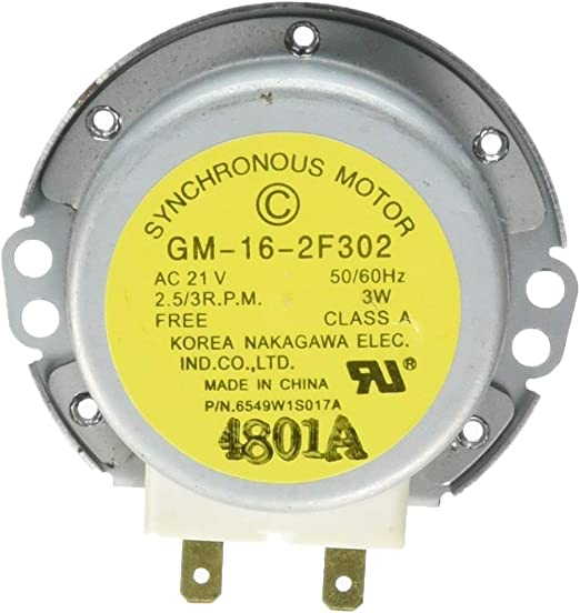 Amazon.com: 6549W1S017A Turntable Motor new replacement for ...