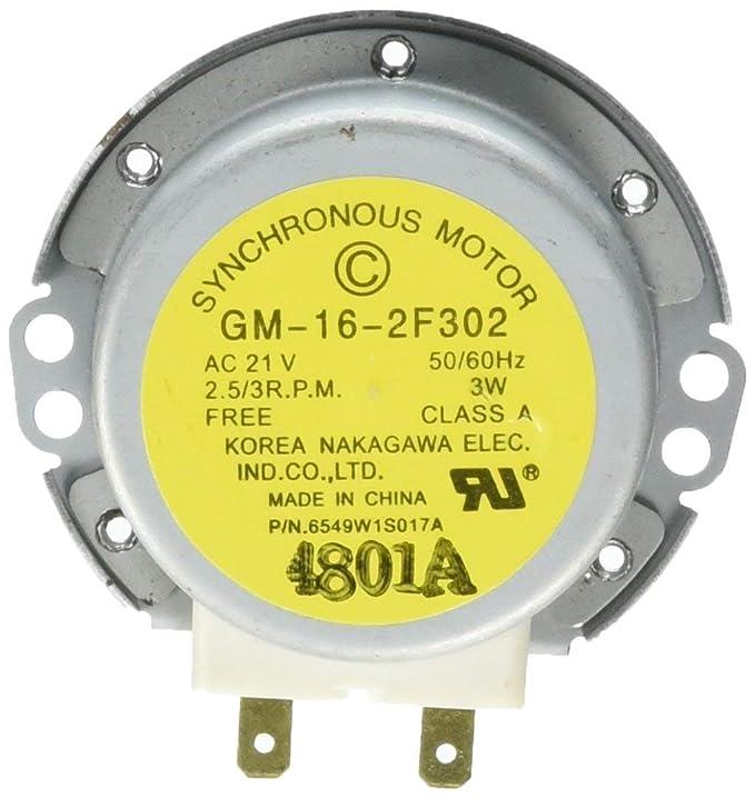 Antoble 6549W1S017A - Motor giratorio de microondas para LG ...