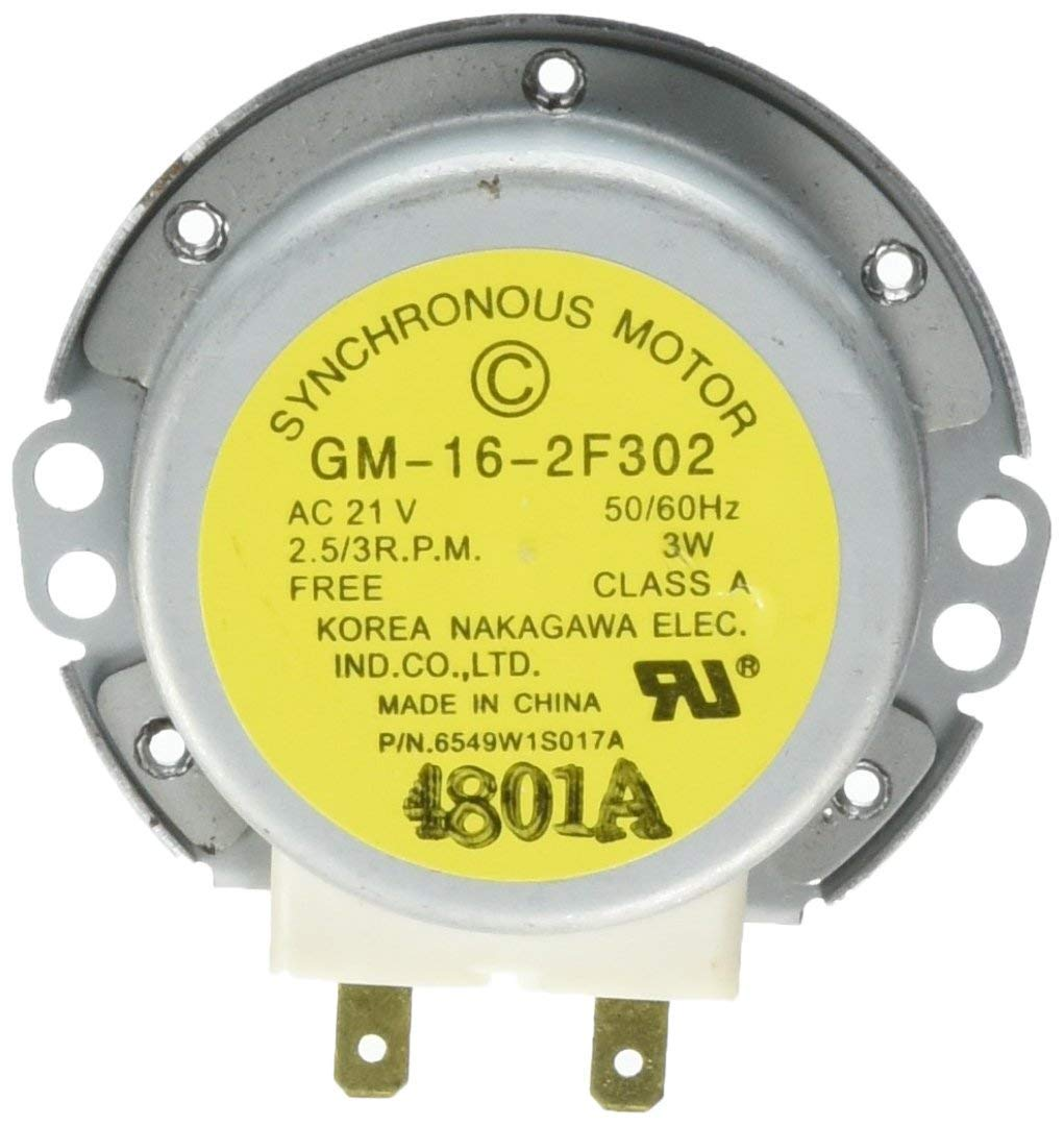 6549W1S017A Turntable Motor new replacement for LG Electronics Microwave Oven by AUKO
