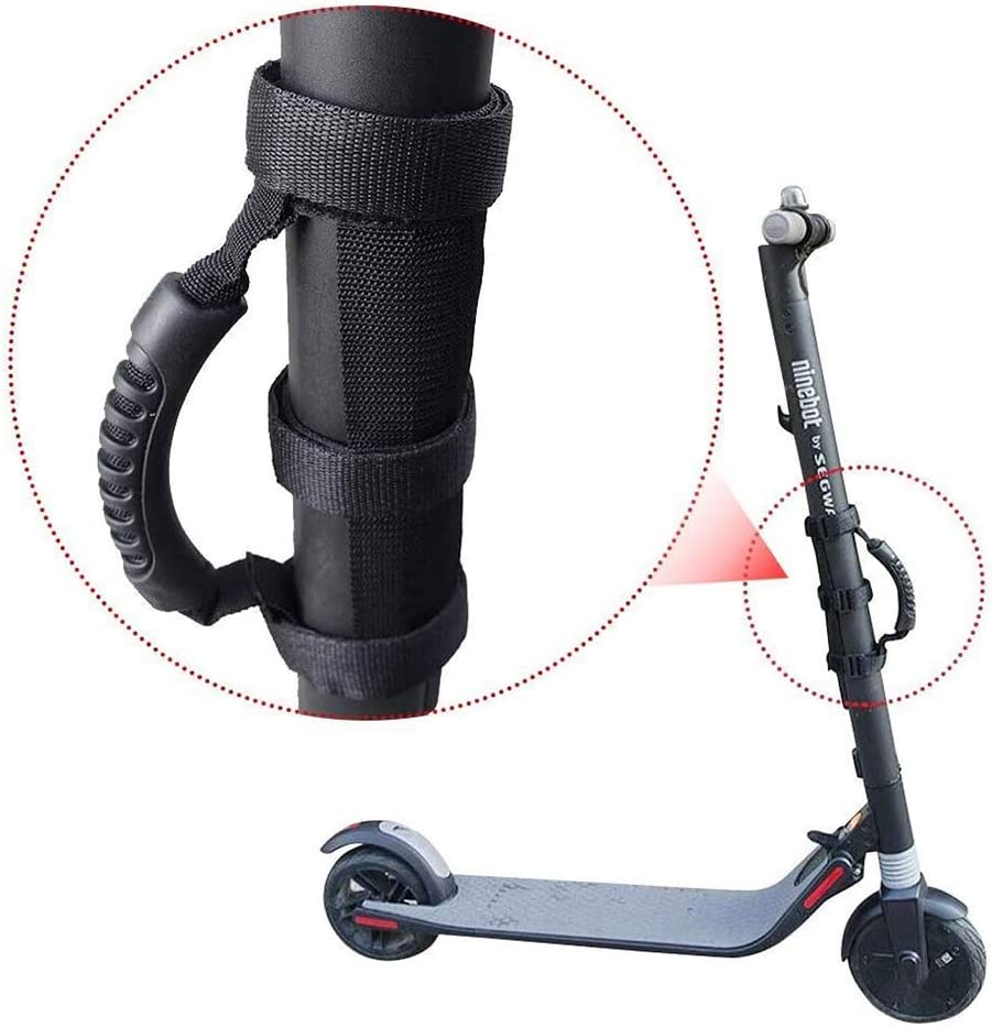 CAMPSLE Scooter Shoulder Strap Scooter Hand Strap with Shoulder Strap Shoulder Strap and Handle Strap for Millet Mijia M365 Portable Folding Electric Scooter Bicycle and Childrens Bicycle