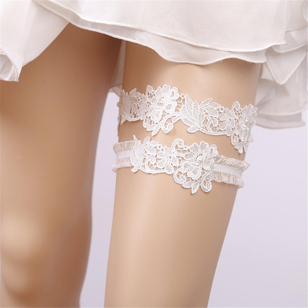 Finaze Wedding Lace Garter for Bridal (MD0007) by Finaze (Image #4)