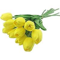 Kullan At Market KM-SUS-1386 Yapay Çiçek Lale 30cm 1'li, Sarı