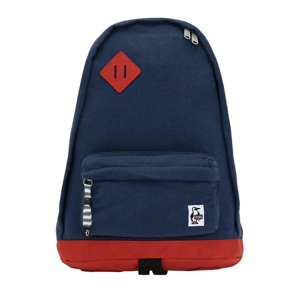 [チャムス] リュック Classic Day PackSweat Nylon CH60-0681-A046-00 B076744NNP H-ネイビー/トマト H-ネイビー/トマト