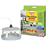Zero In Flea Killer (Mains Powered, Effective Flea Killer for The Home, Targets Bedding and Carpets Over a 10 m Radius, Includes Refill Adhesive Pads)