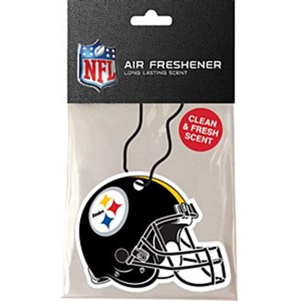 Pro Specialties Group NFL Pittsburgh Steelers Helmet Air Freshener PSGAFFBPIT
