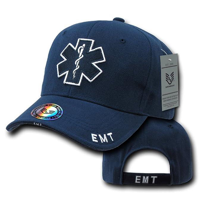 Rapiddominance EMT Cross Deluxe Policía Cap, Azul Marino