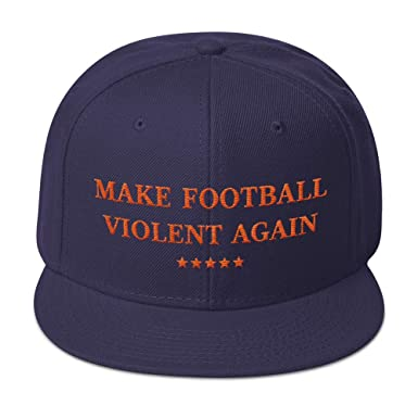 best service 82829 18182 ... get hogue ws llc make football violent again hat chicago bears team  colors snapback hat cbe97
